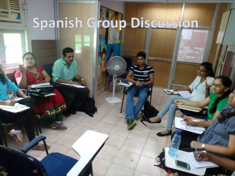 Spanish Group discussion